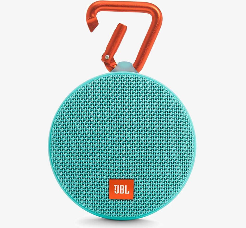 JBL Clip 2 Waterproof Portable Bluetooth Speaker teal