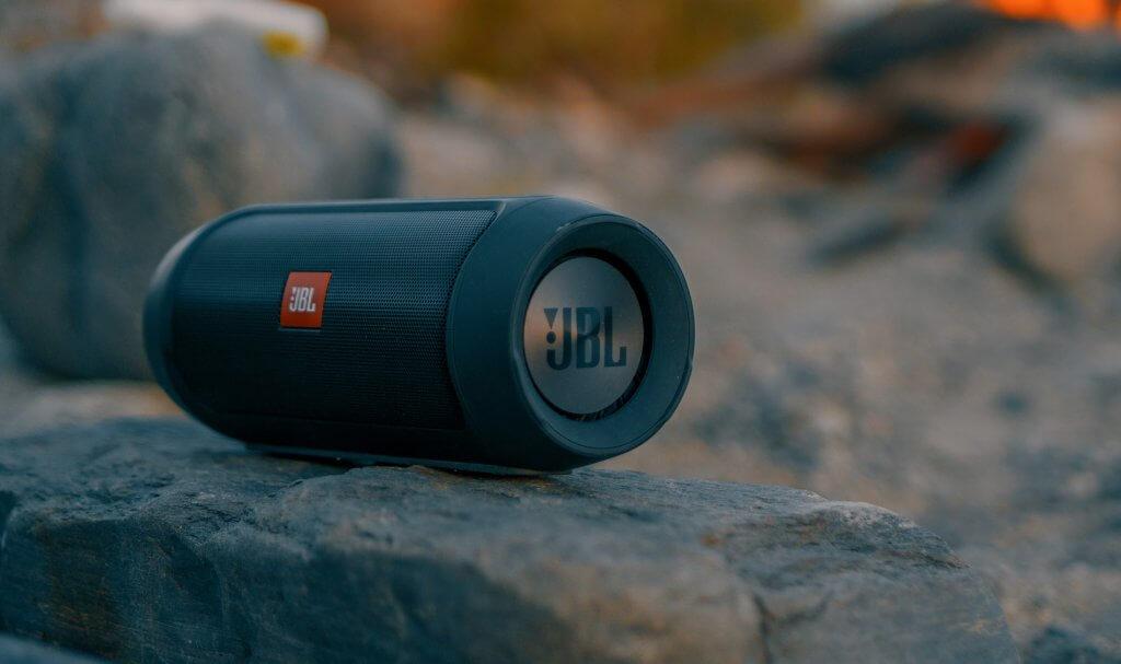 JBL Speaker outdoors