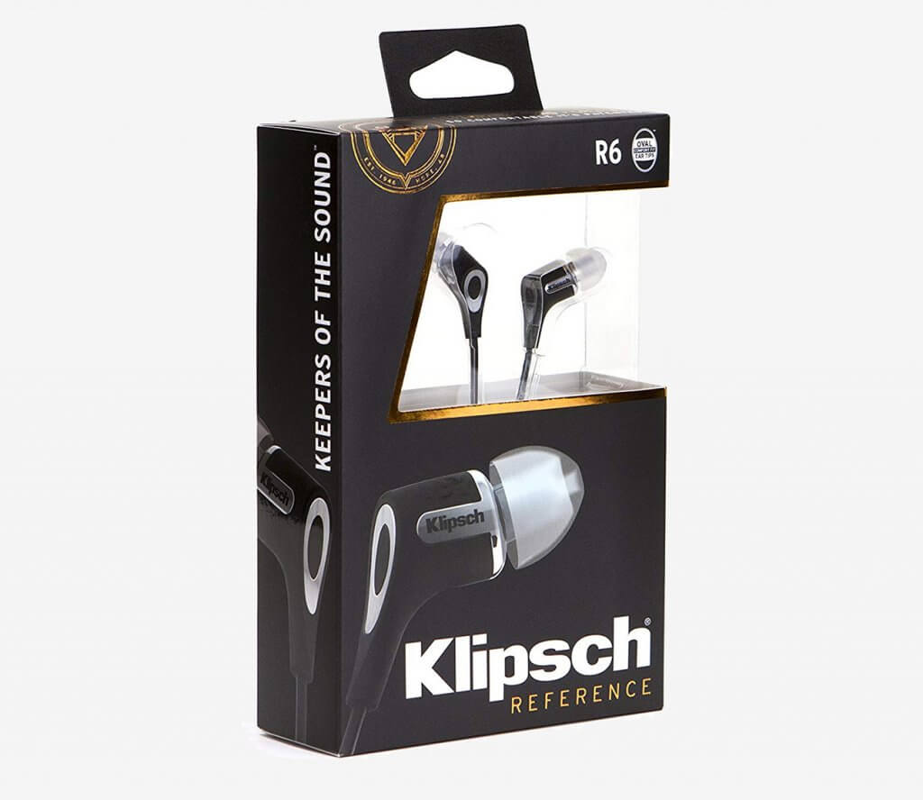 Klipsch R6i packaging