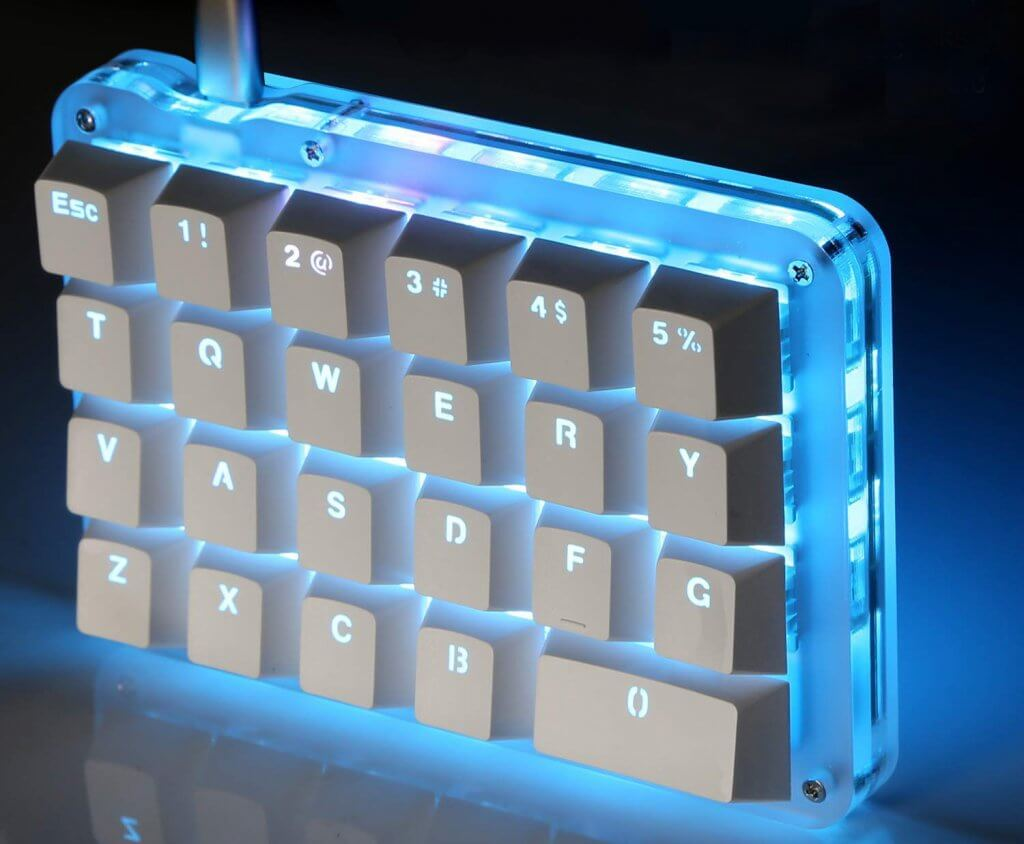 Koolertron Red Switch backlit keys