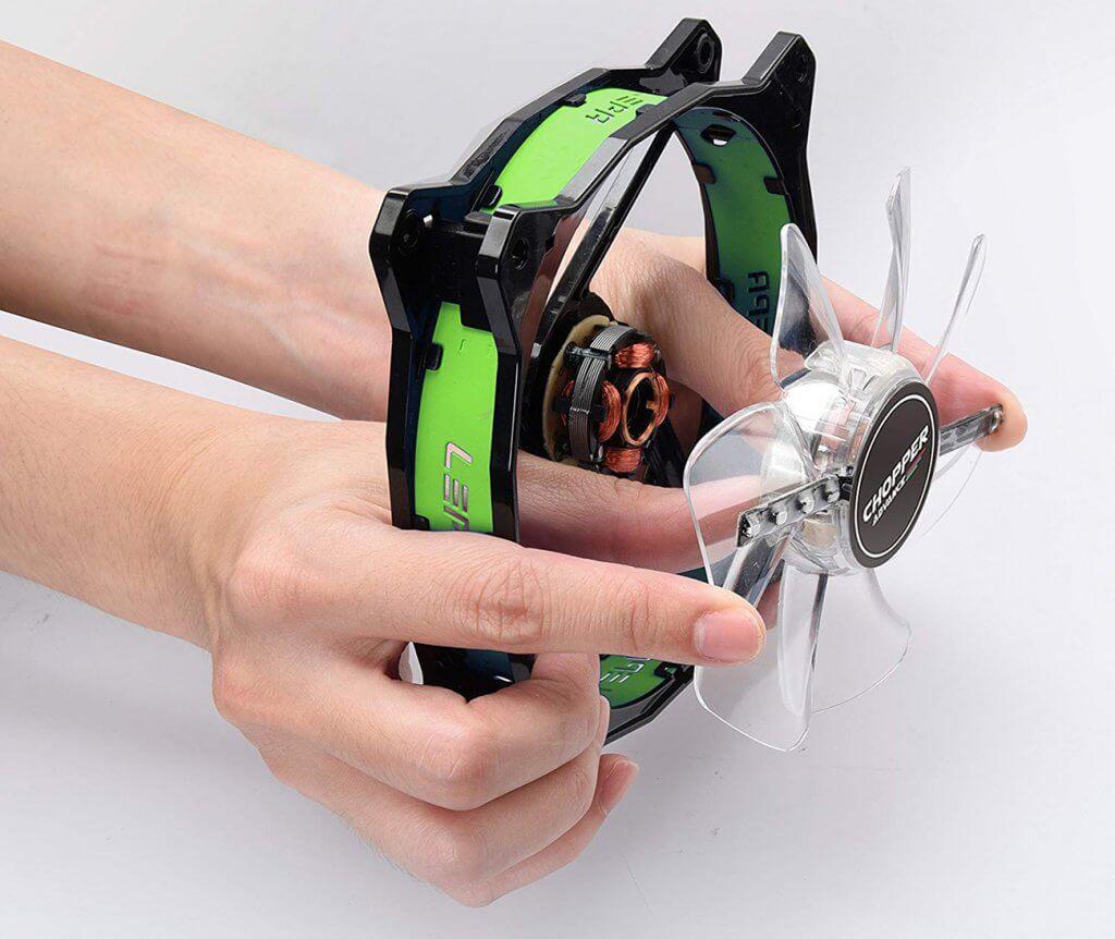 LEPA Chopper Advanced LPCPA12P-G disassembled