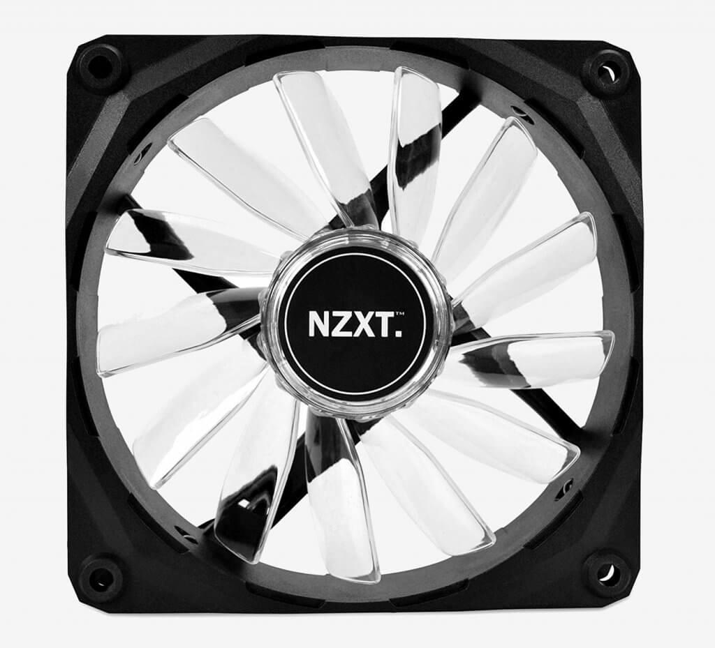 NZXT Technologies RF-FZ120-W1 front