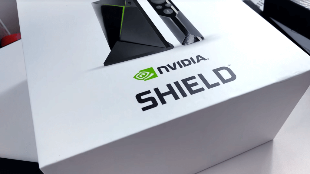 Nvidia Shield TV Gaming Edition box
