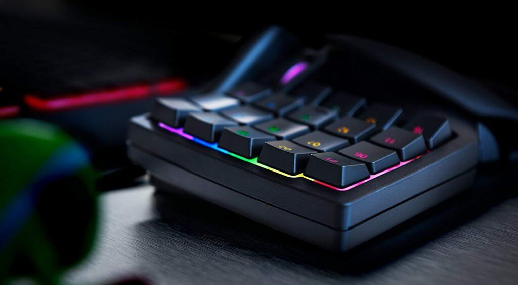 Razer Tartarus V2 keys