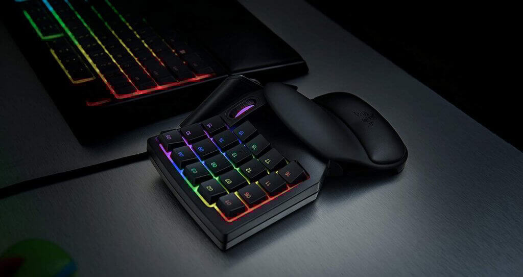 Razer Tartarus V2 on desktop