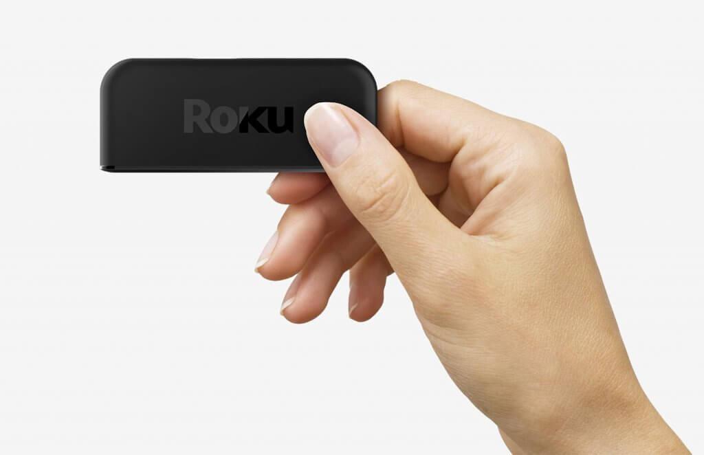 Roku Premiere in hand