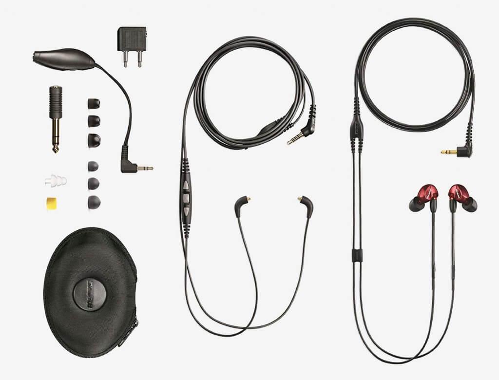 Shure SE535LTD accessories