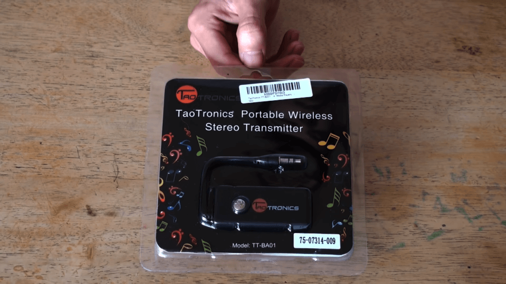 TaoTronics TT-BA01 packaging
