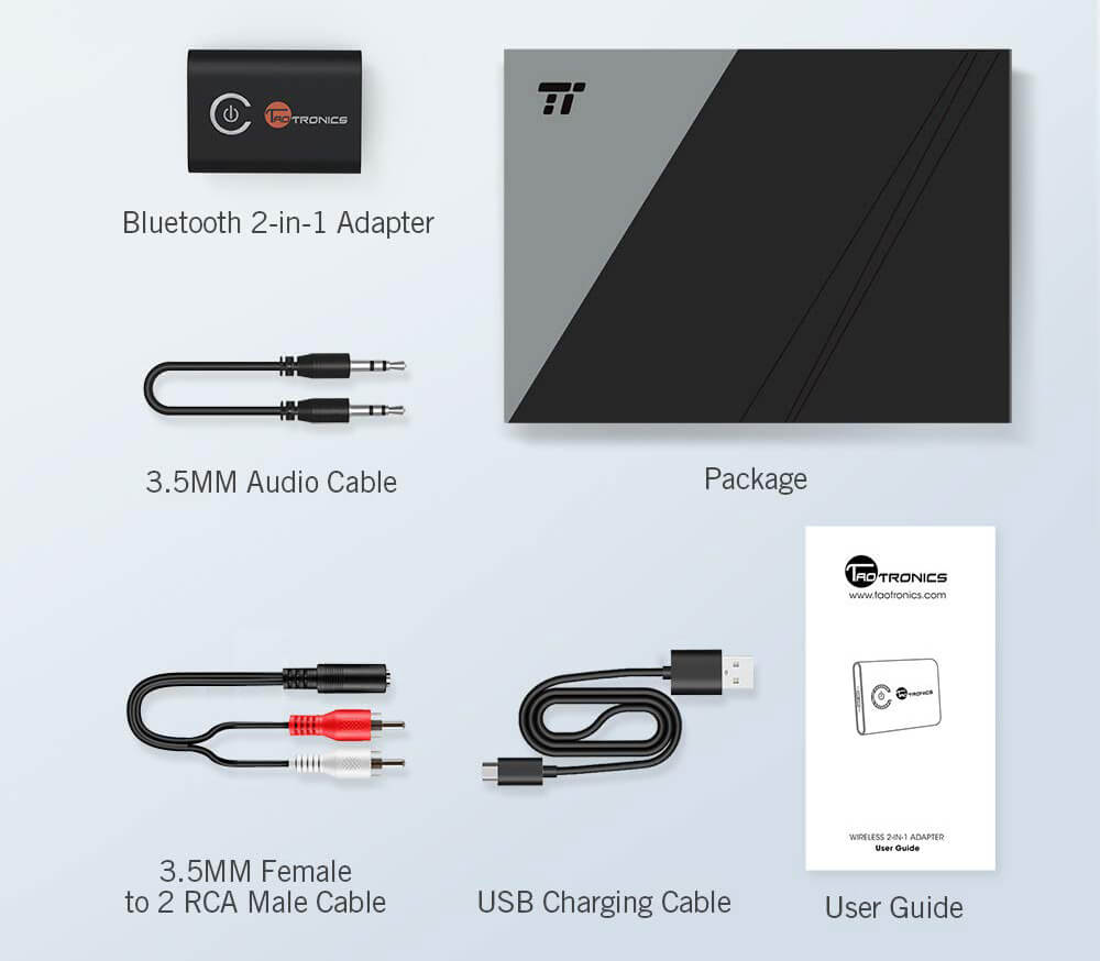 TaoTronics TT-BA07 accessories