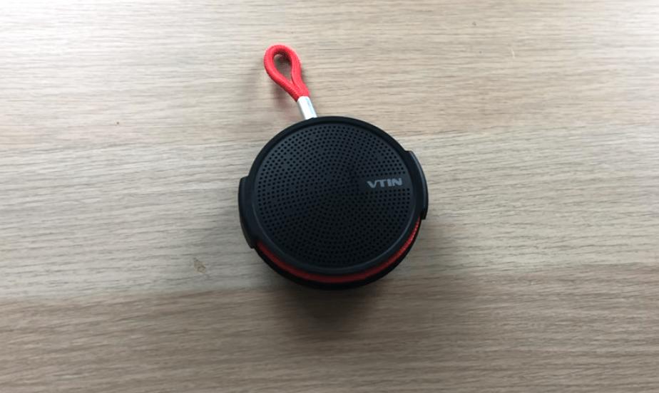 Vtin Q1 Portable Bluetooth Speaker unpacked