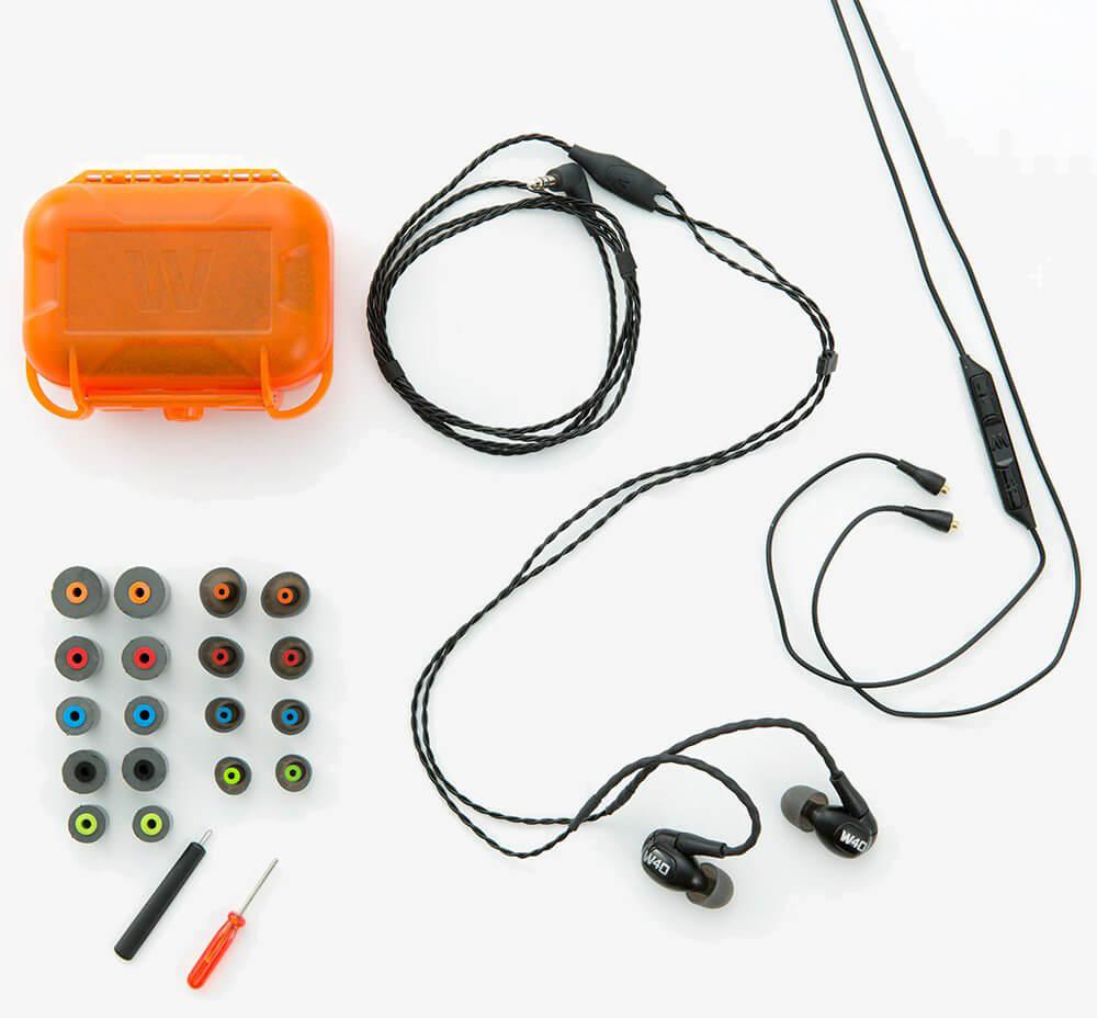 Westone W40 accessories
