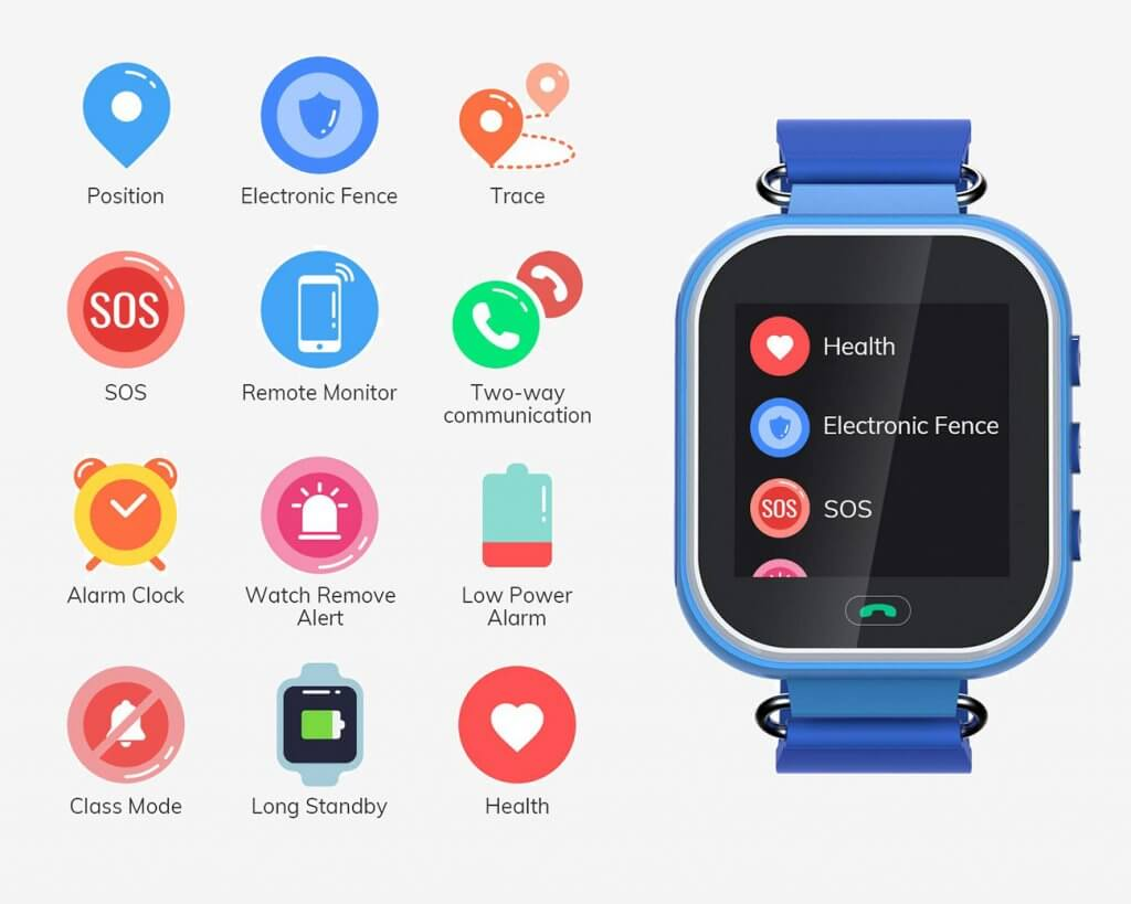 Wonbo Smart Watch For Kids Apps