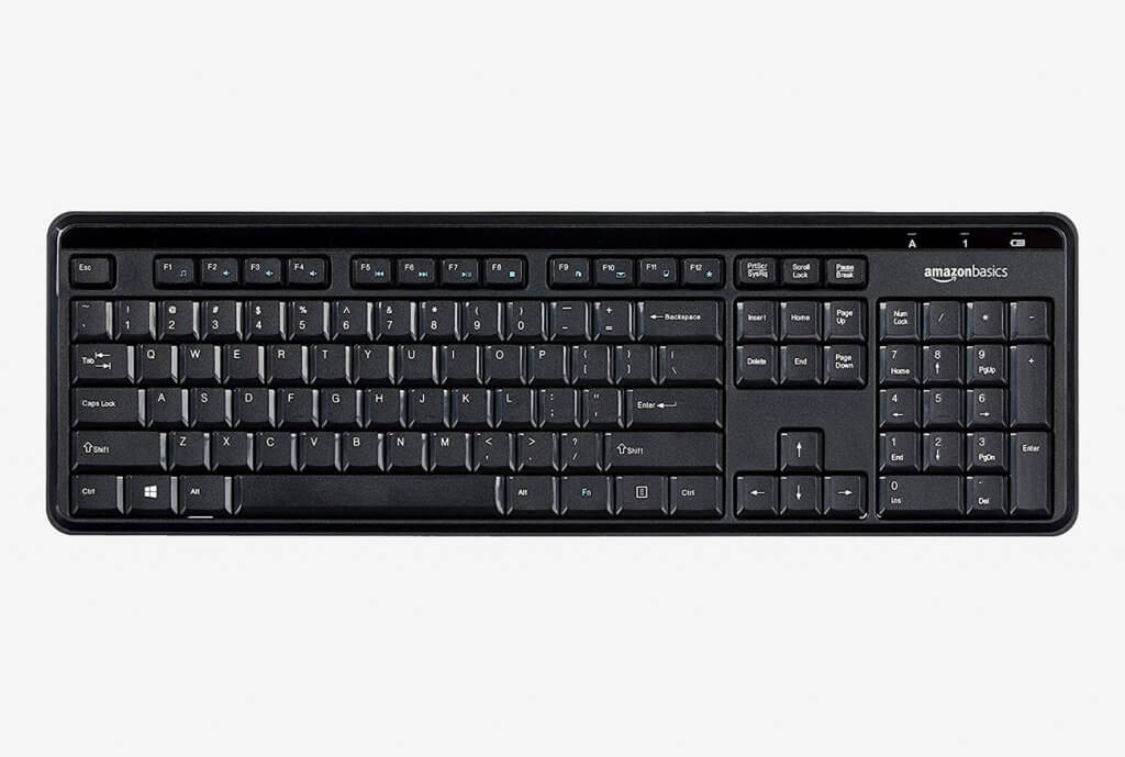 AmazonBasics Wireless Keyboard
