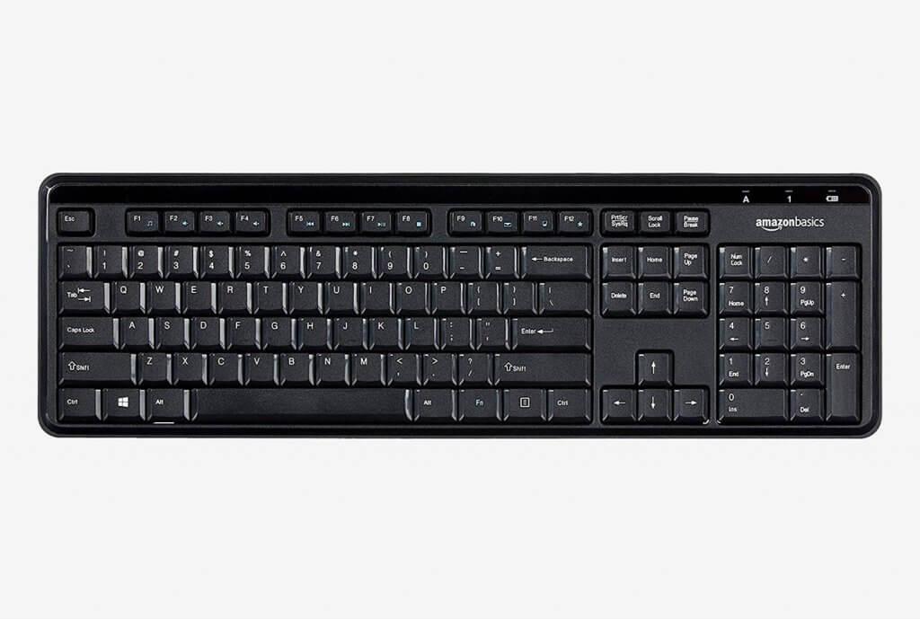 AmazonBasics Wireless Keyboard