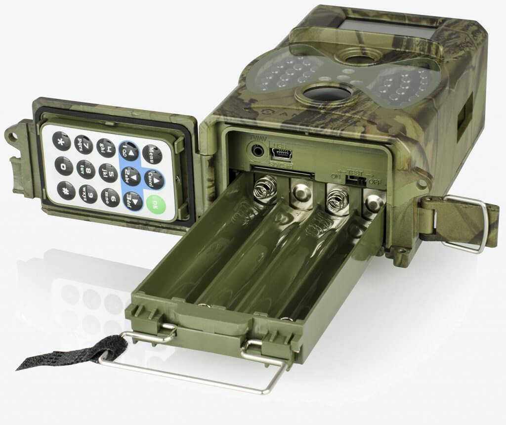 Amcrest ATC-1201 Trail Camera battery compartment