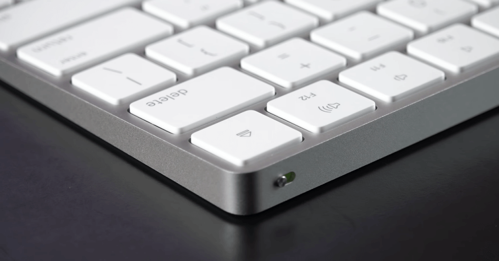 Apple Magic Wireless Keyboard close-up