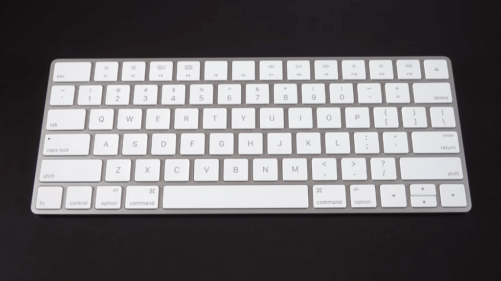Apple Magic Wireless Keyboard on desk