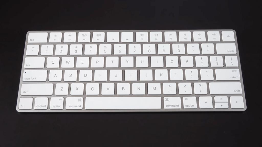 Apple Magic Wireless Keyboard on desk