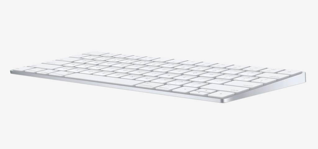 Apple Magic Wireless Keyboard side