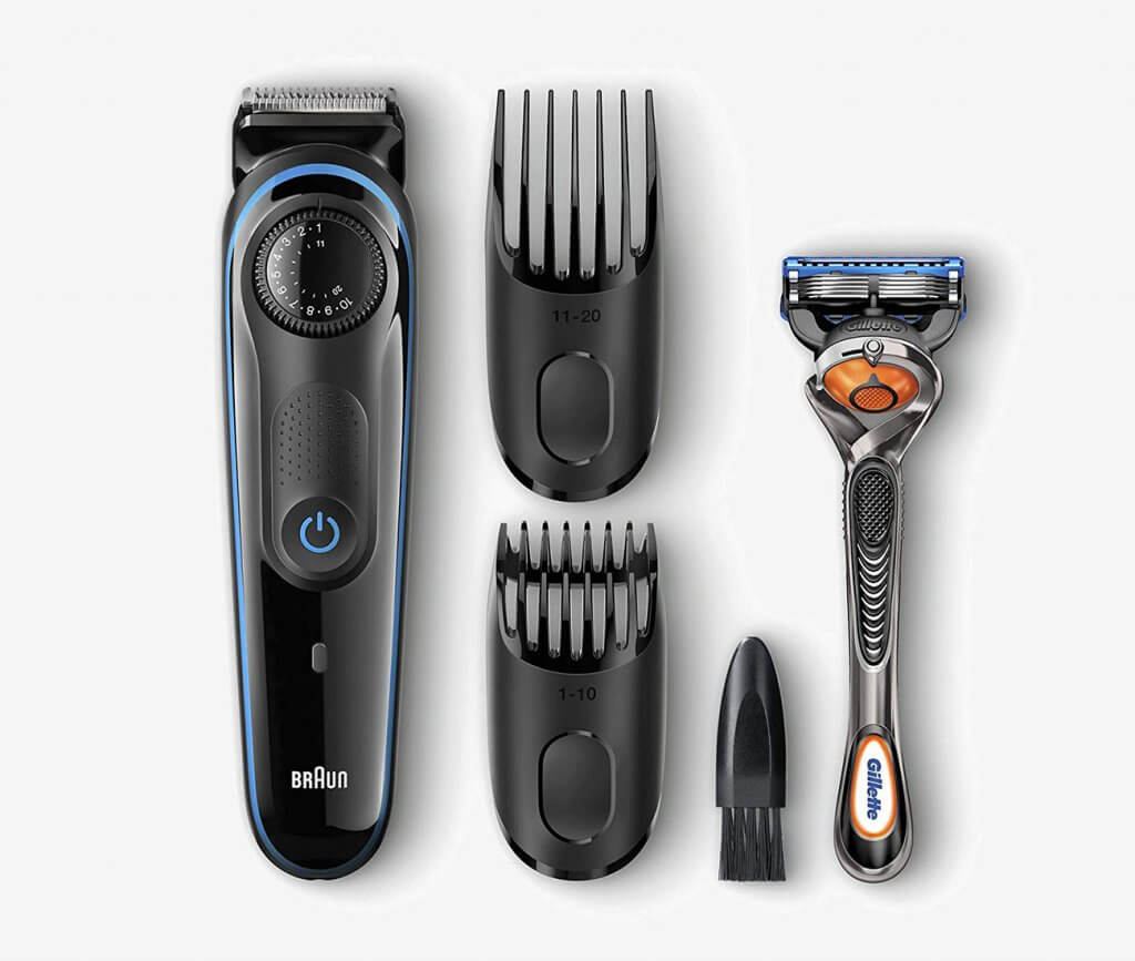 Braun BT3040 Beard Trimmer and Fusion ProGlide Razor