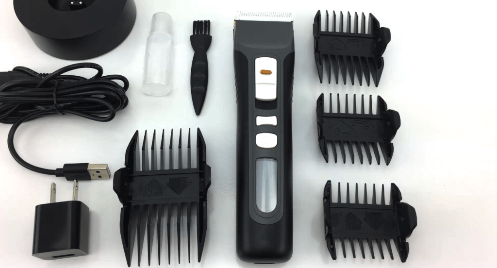 Brio BeardScape Beard and Hair Trimmer accessories