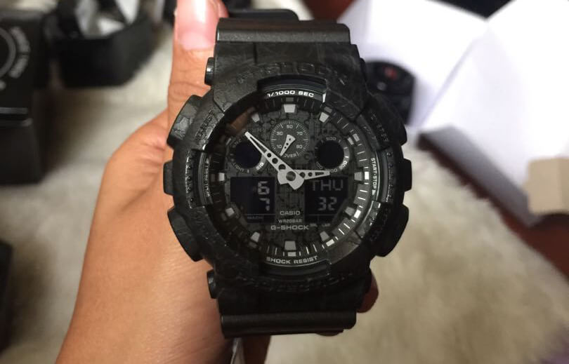 Casio G-Shock Military Watch unboxed