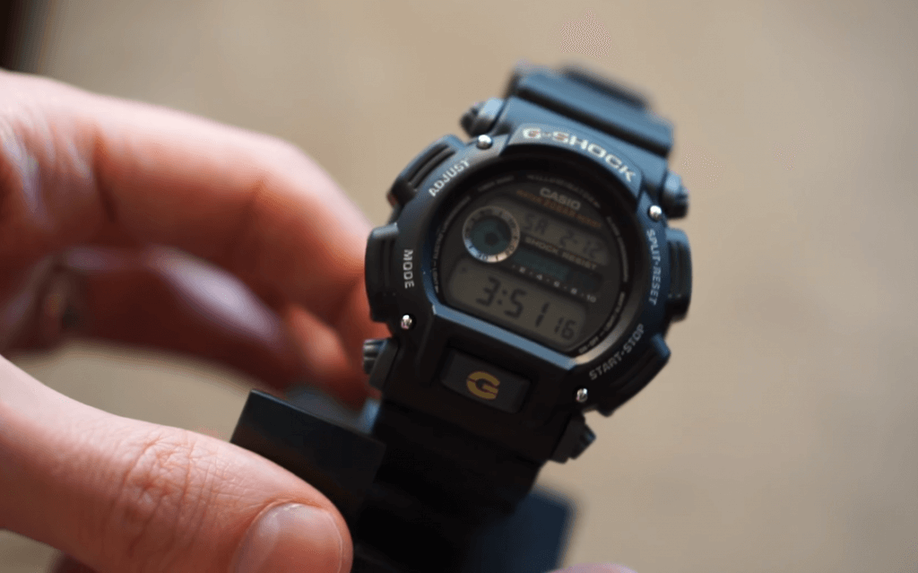 Casio G-Shock Sport Watch unboxed