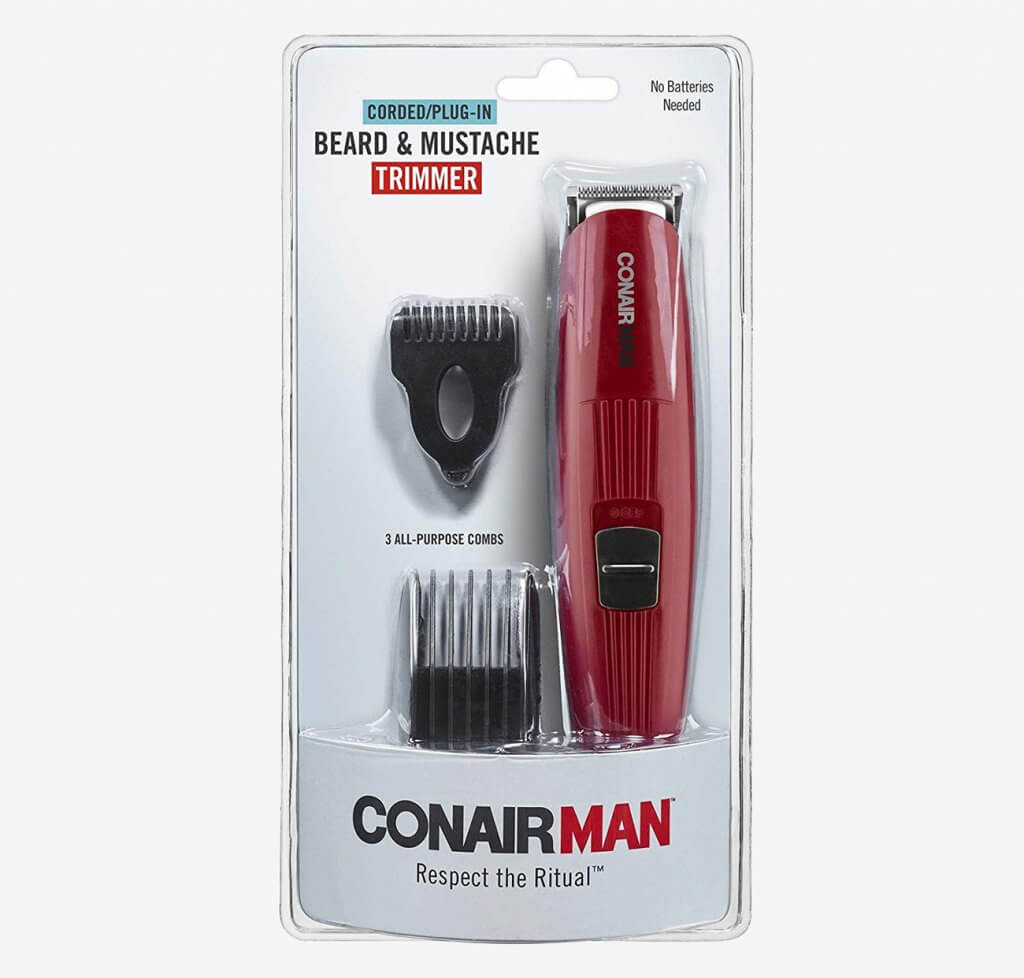 Conair for Men Beard packaging