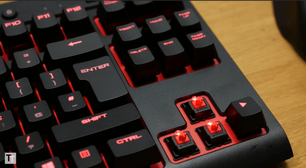 Corsair K63 switches
