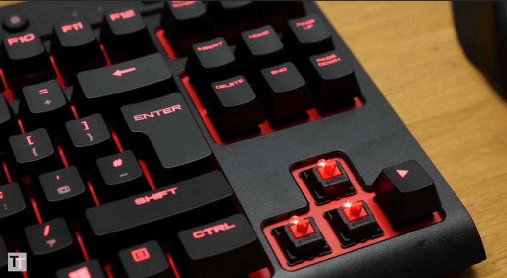 Corsair K63 switches