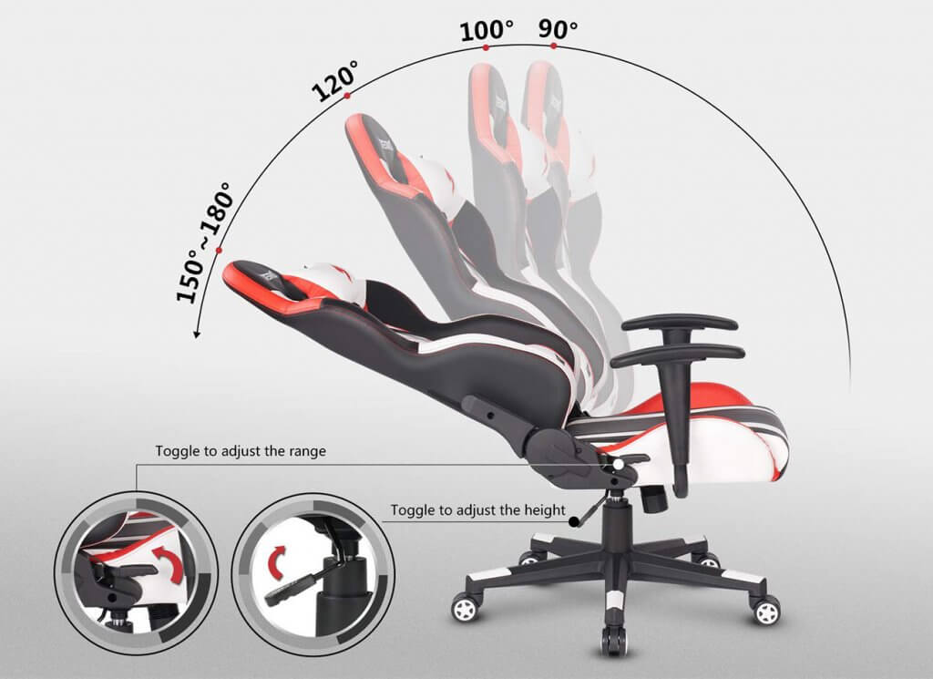 DESINO Gaming Chair reclining