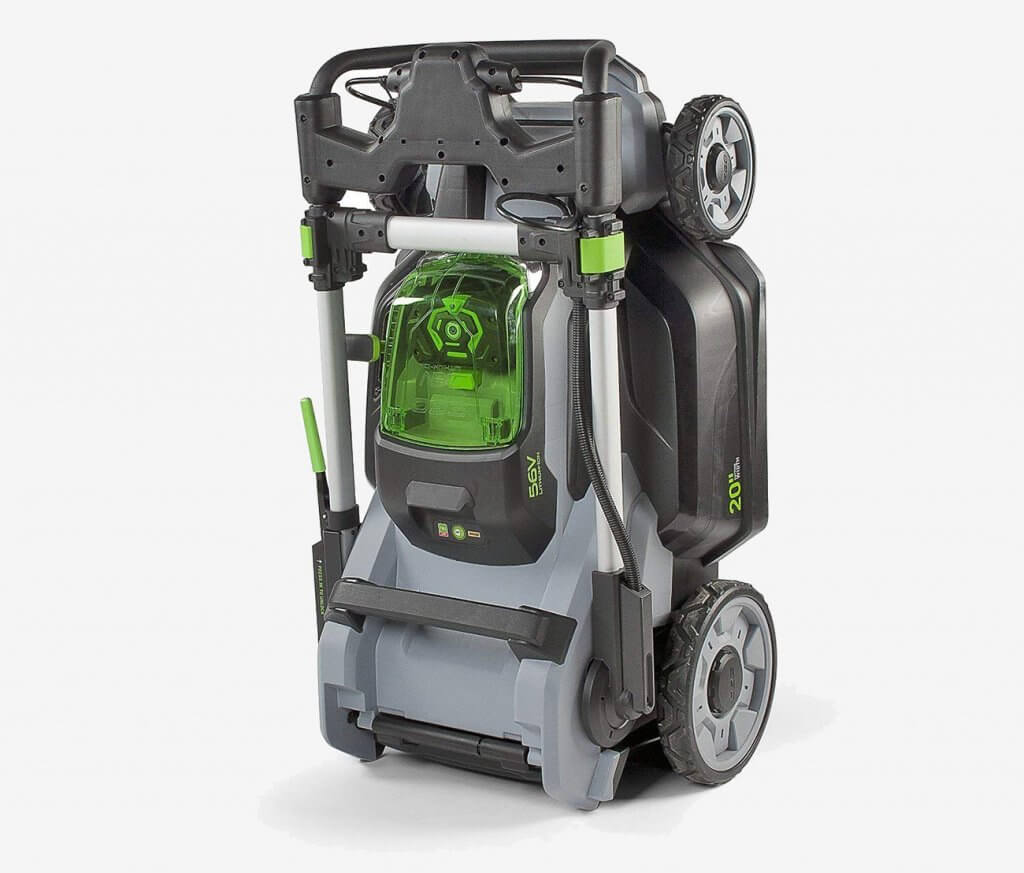 EGO Power+ Cordless Lawn Mower folded