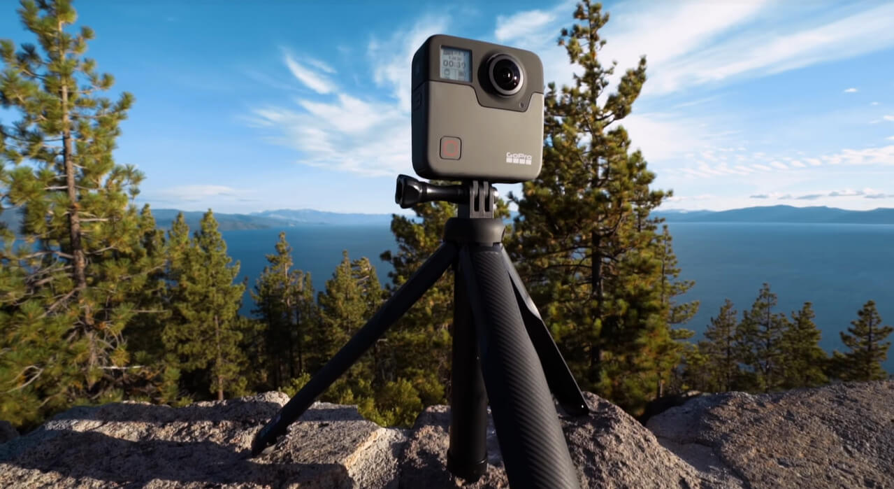 GoPro Fusion outdoors