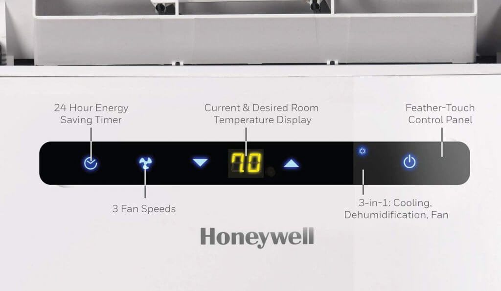 Honeywell MN10CESWW digital controls