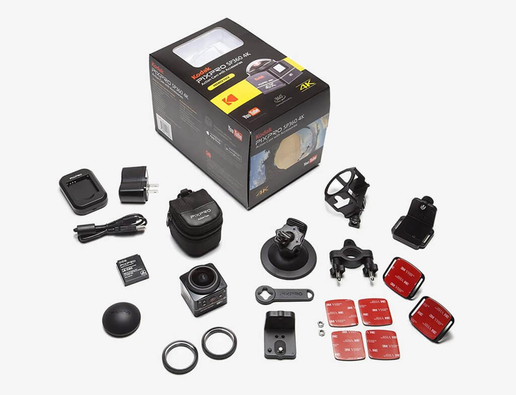 Kodak PixPro SP360 4K accessories