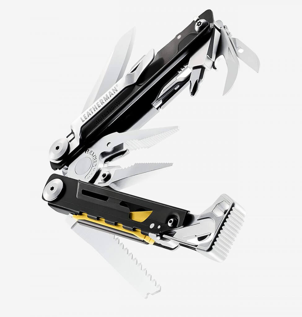 Leatherman Signal Multi-Tool with opened tools