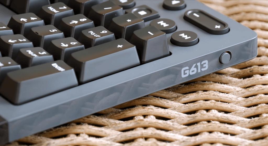 Logitech G613 side keys