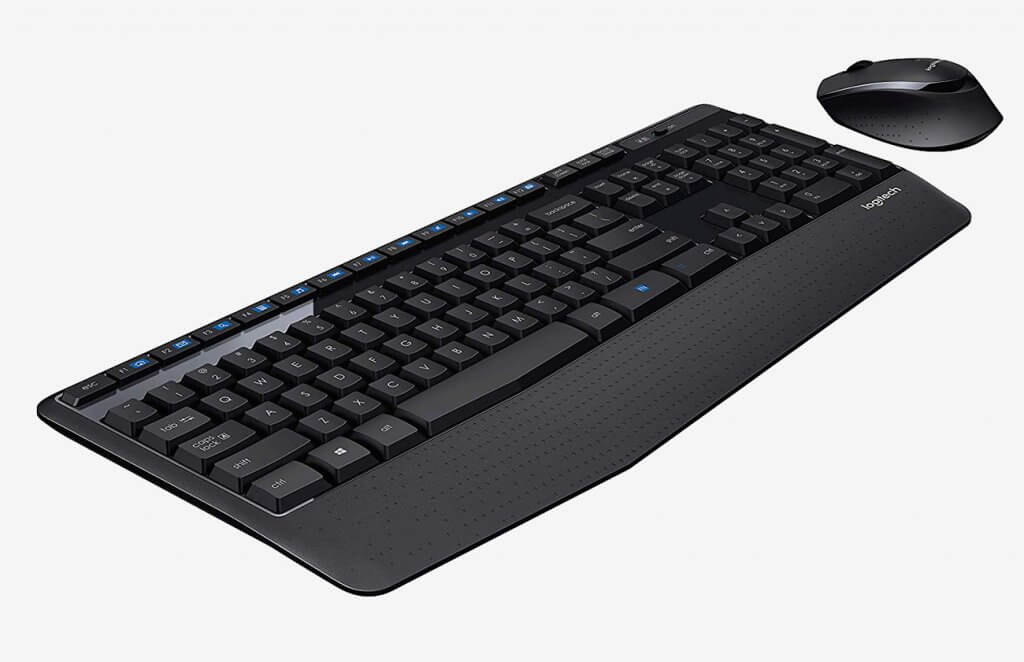 Logitech MK345 Wireless Combo side