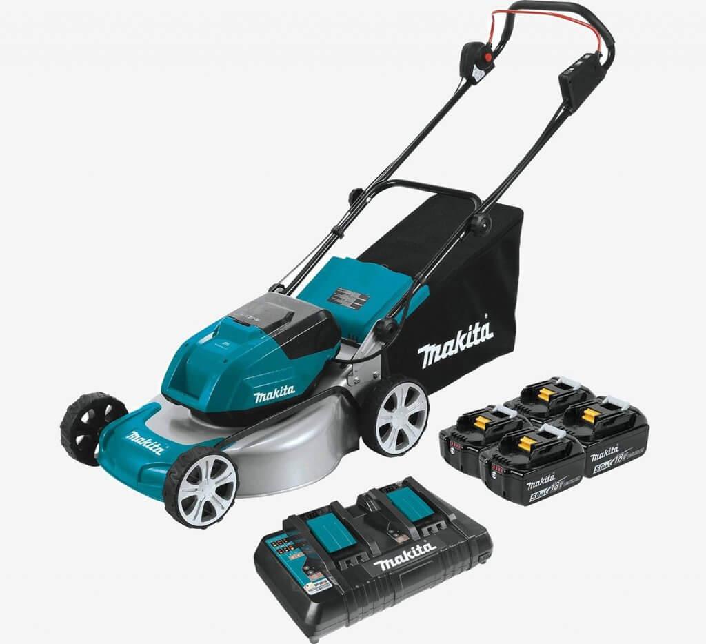 Makita XML03PT1 18-Volt Cordless Lawn Mower