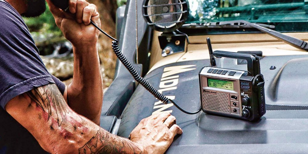 Midland outdoor CB radio use