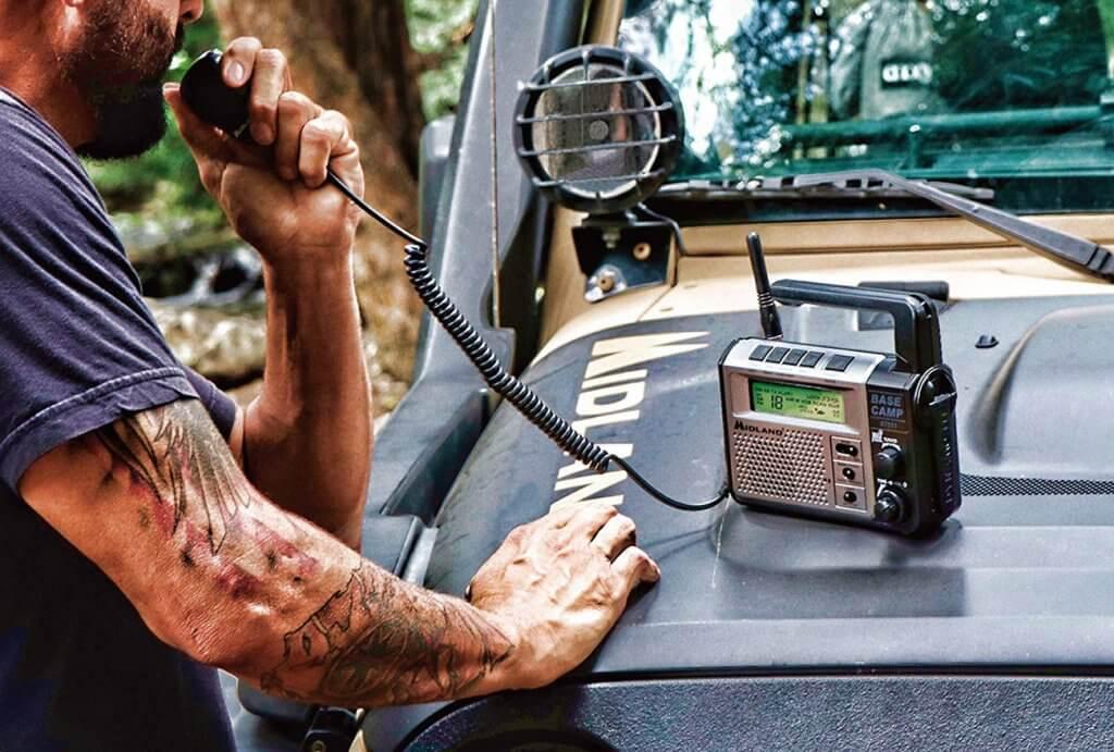 Midland outdoor CB radio use