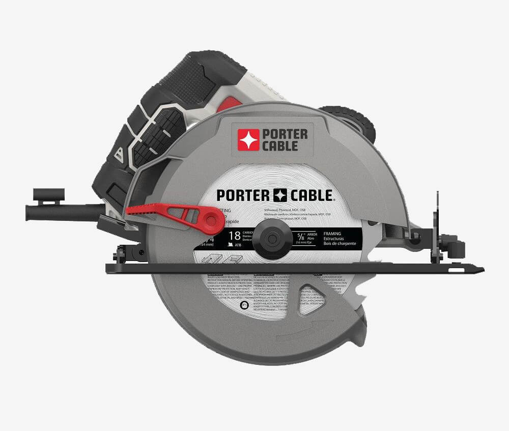 Porter-Cable 7-14-Inch Circular Saw side
