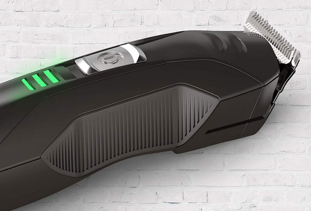 Remington All-In-One Lithium Powered Grooming Kit side