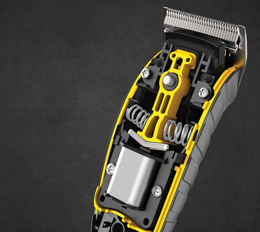 Remington Virtually Indestructible Clipper internals