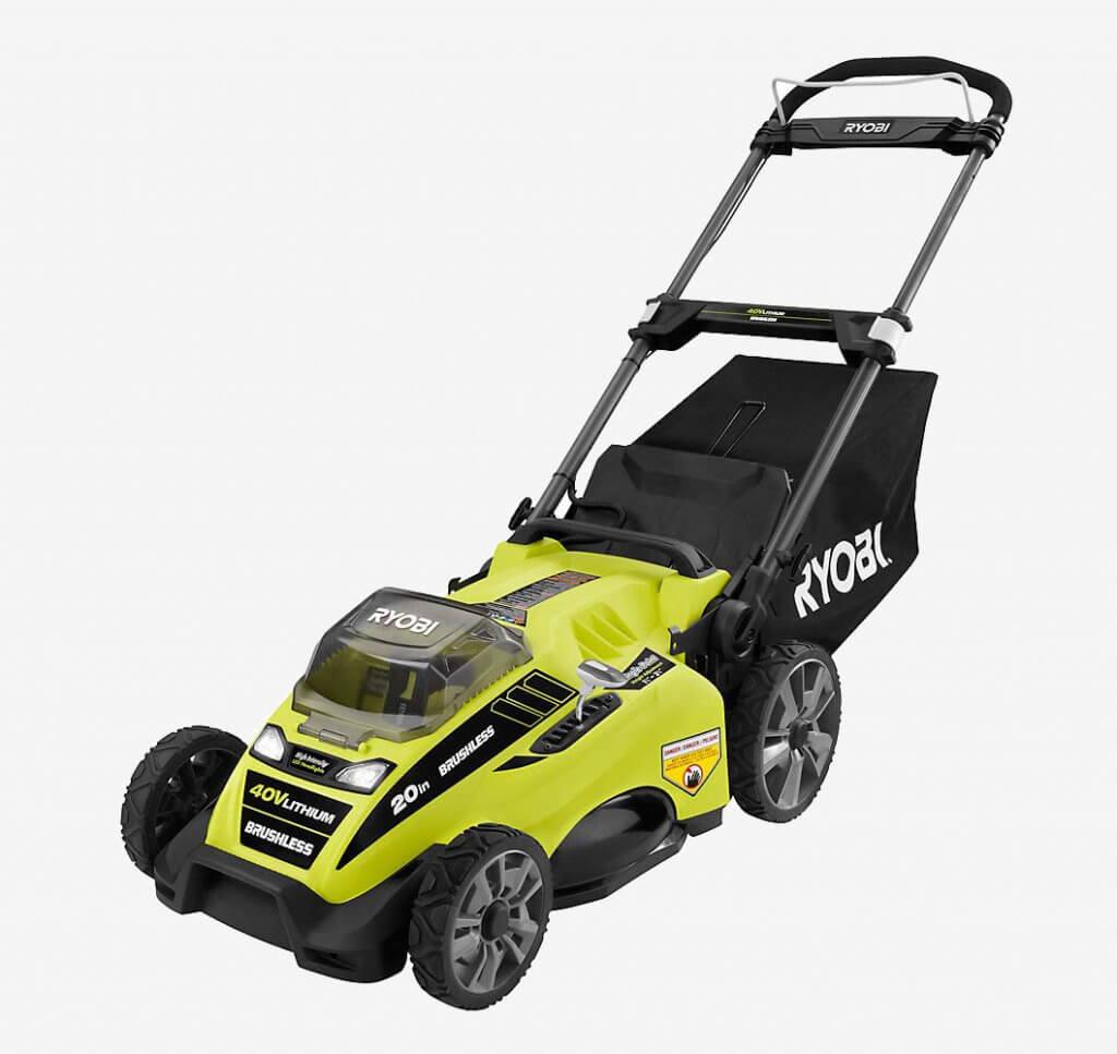 Ryobi RY40180 Cordless Lawn Mower