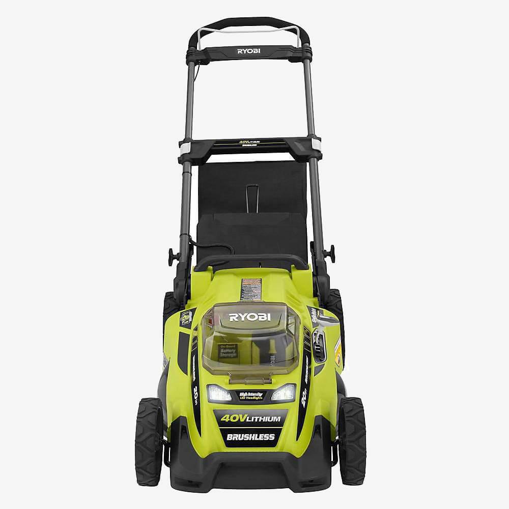 Ryobi RY40180 Cordless Lawn Mower front