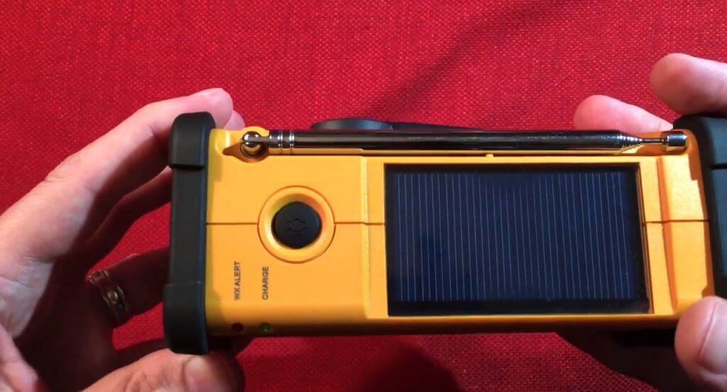 Sangean MMR-88 Solar panel