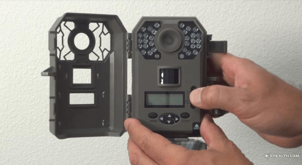 Stealth Cam 8MP 30IR Game Camera setup