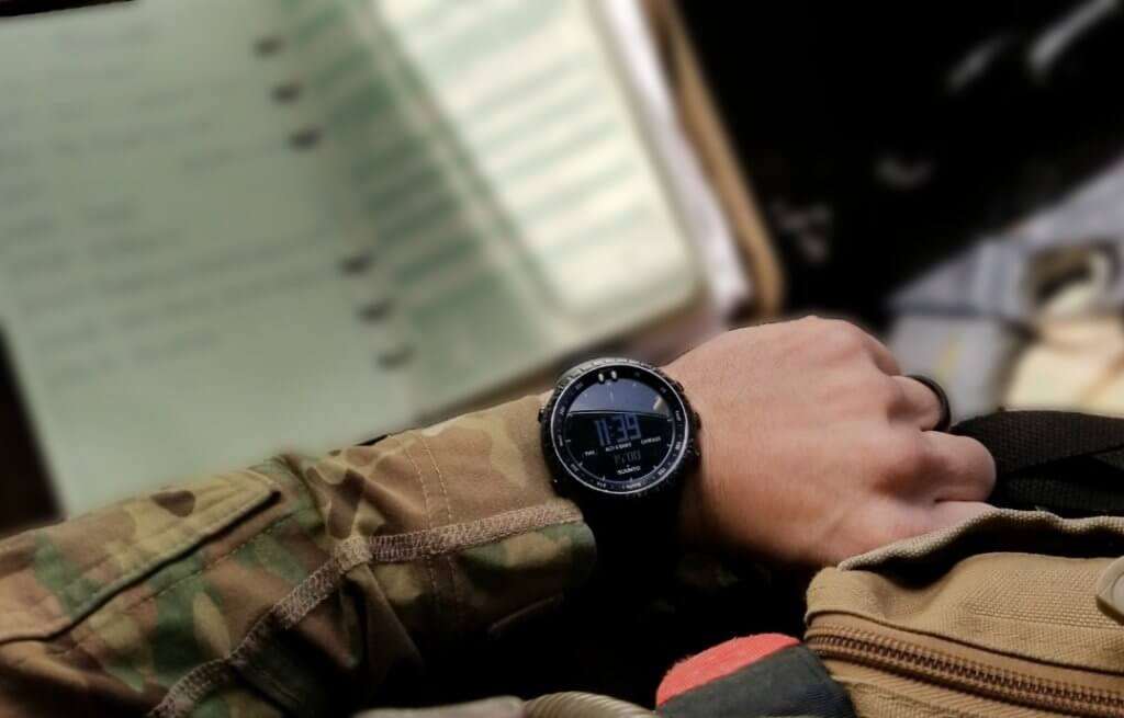 Suunto Core for tactical use