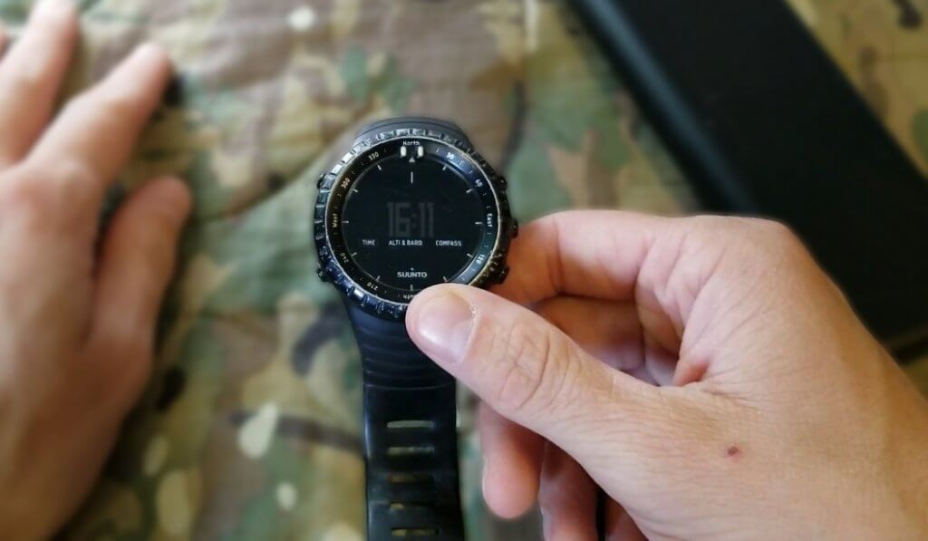 Suunto Core used in military
